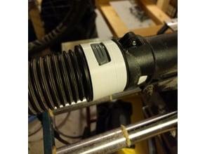Hose adapter for Kärscher shop vac to Bosch miter saw