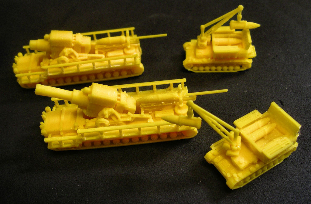 1:200 Tanks and Vehicles, 1944-45 by m_bergman - Thingiverse