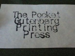 Pocket Gutenberg