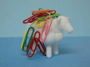 Sheep paper clips holder / Mouton porte trombones