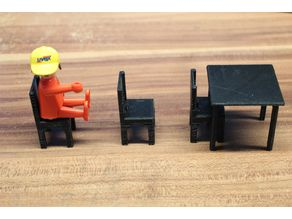 simple chair [playfab 181003, playmobil compatible]