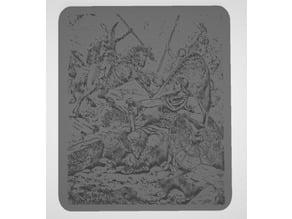 Helgi und Sigrun - Norse Hero and Valkyrie