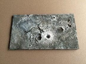 Aristarchus Plateau, moon