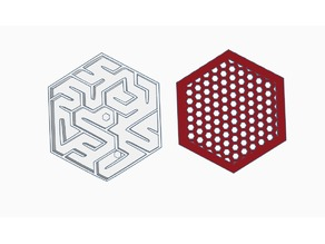 Mini marble maze + Keychian Version
