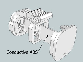 Conductive ABS Potentiometer