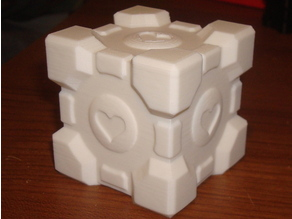 Companion Cube Coin Bank