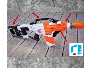 Nerf Desolator Parts Kit