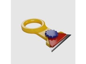 Build-Plate Scraper (cleaner)