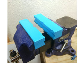 Magnetic vice soft jaws (customizable)