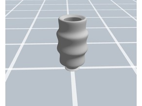 snake shape vase for interior decor