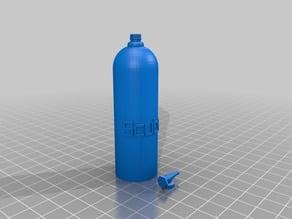 Scuba Tank W/Pacifier clip