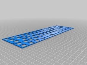 Keyboard plate for GH60 / Satan / 60%