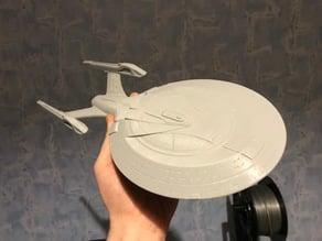 Star Trek Enterprise E (2 parts for easy printing)