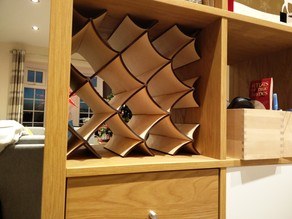 Wine Rack for IKEA KALLAX