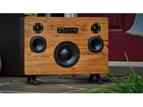 2.1 Bluetooth 200W BoomBox speaker