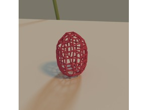 Easter voxel egg