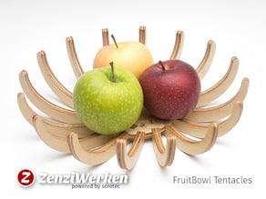 FruitBowl Tentacles cnc/laser