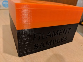 Filament Sample Box