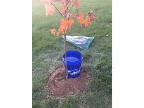 Portable Watering System for Trees and Garden