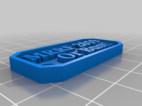 MRRF Or Bust Keychain