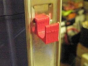 Shelf slide-in hook