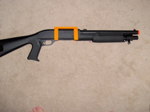 Airsoft Shotgun Rail Adapter