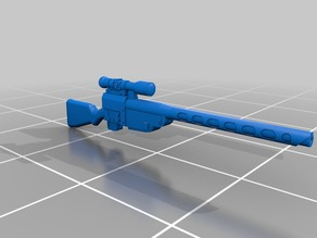 28mm Wastefall Sniper rifle