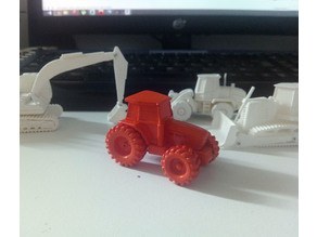 Easy to print Generic Tractor (esc: 1:100)