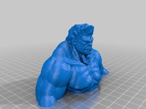 Hulk (Ready to Print) with Pin Connector