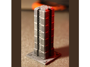 Skyscraper - Building - For board games like Monsterpocalypse