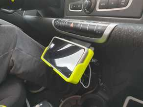 Cell Phone Holder for S10e with wireless Qi charging