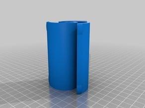 Sprial Filament Spool Hub 85mm long.