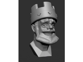 Clash Royale King Bust
