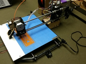 Printrbot Simple X-axis Upgrade 296mmx227mm!