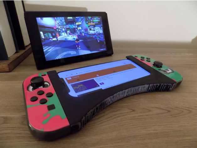 Nintendo Switch Phone Joy Con Grip by Puglife - Thingiverse
