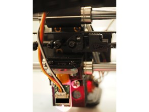 Wanhao i3 V2.1 BLTouch Mount (with LED)