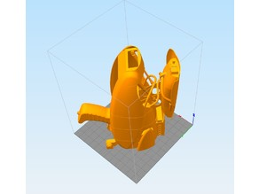 1:1 SCALE ZF1 REMIX FOR PRINTERS 300 X 300 X 400