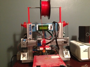 Ord Bot Z-Axis Conversion to Belt Drive