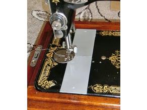 Shuttle slide plates for vintage Singer sewing machine models 28, 127 and 128