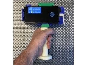 iPhone X - Occipital Structure scanner bracket handgrip/stand