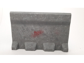 Perimeter defense system - straight section, size 3