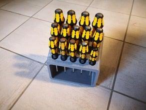 Schraubendreher Tischhalterung (Wera) / Screwdriver table holder
