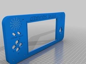 Raspberry pi SNES 7 inch screen case
