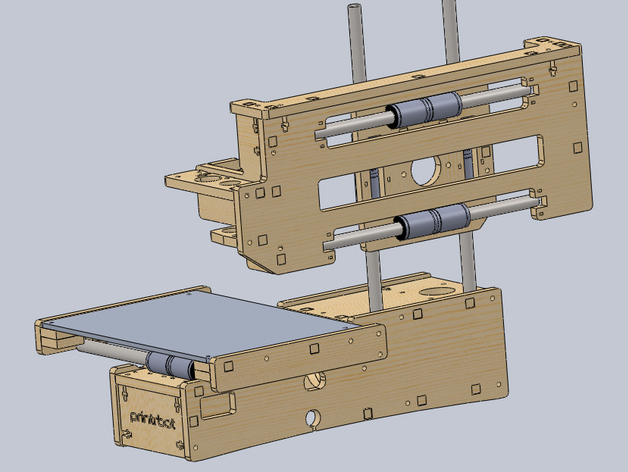 Printrbot Maker 1405 CAD and STL files by Strider460 - Thingiverse