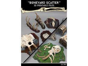 Boneyard Scatter - 28mm Gaming - Sample Item