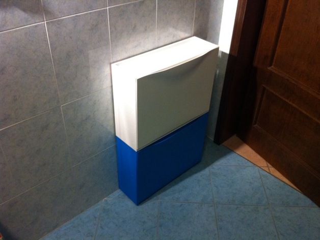 Ikea Trones shoe storage cabinets adhesive mount plate by ...