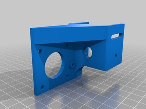 Ender 3 Pro Offset Y-Motor Mount (fixed pulley & 40/40 extrusion)
