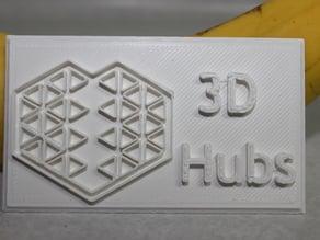3D Hubs Badge