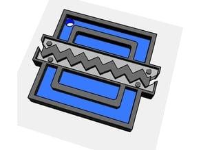 Frost - Rainbow Six Siege Keychain