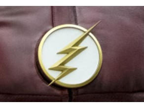 "A Lightning Bolt Emblem Inspired by the Television Series ""The Flash"""
